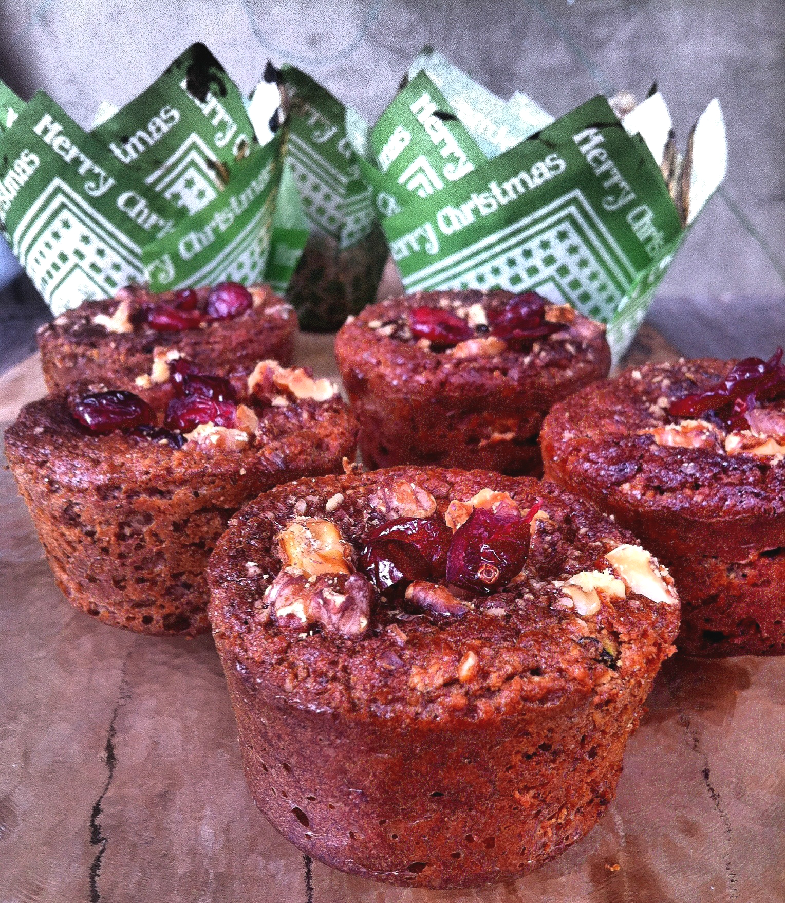 Grain-free Zucchini Muffins