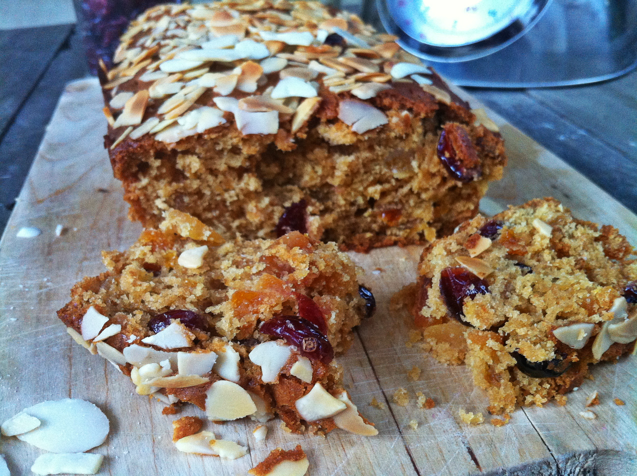 Almond & Apricot Loaf