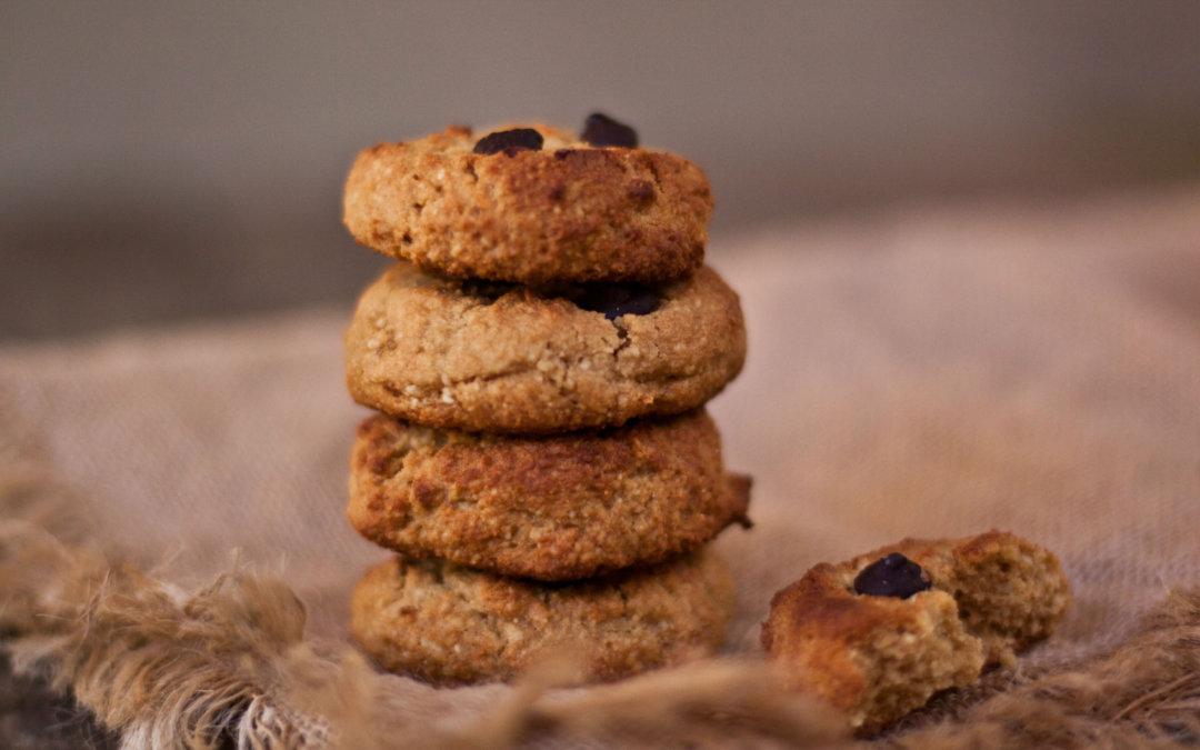 Paleo Choc Chip Cookies
