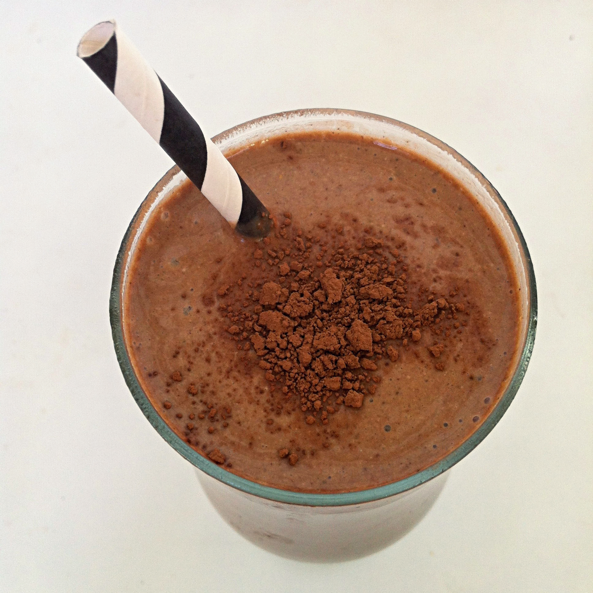 Double Thick Chocolate Smoothie