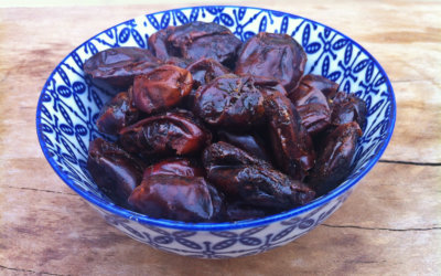 Jerusalem Toffees (baked dates)