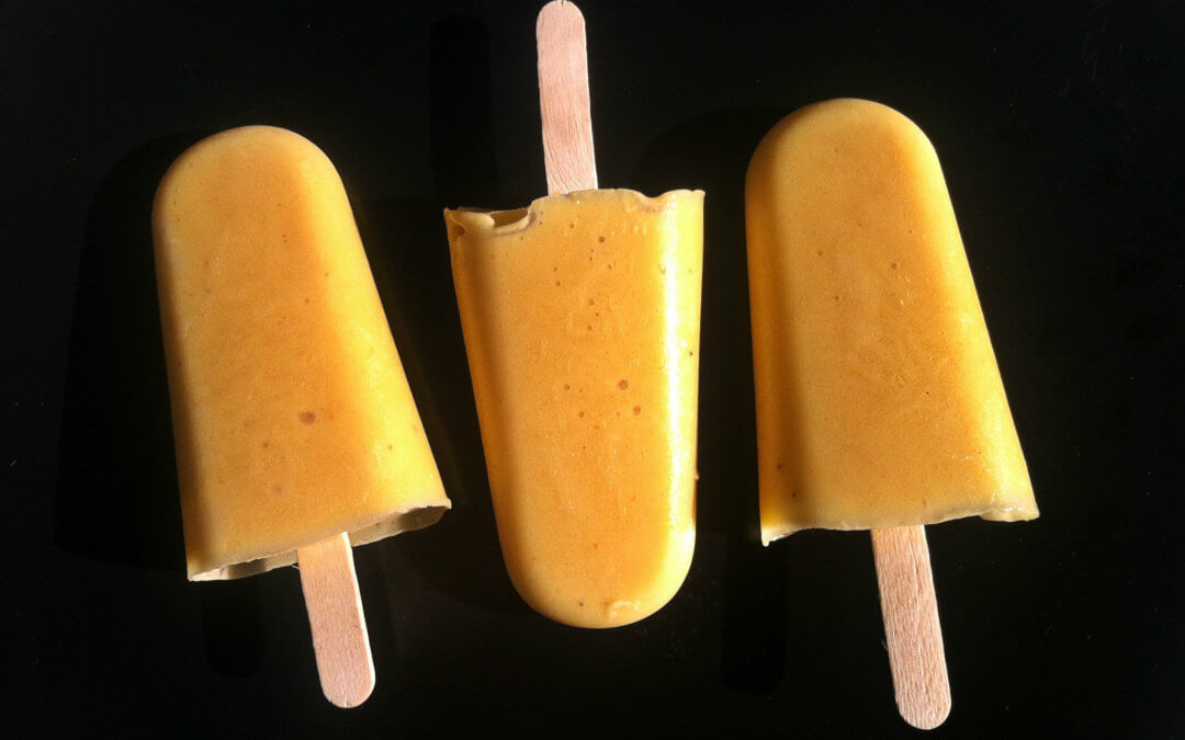 Mango Ice Lollies