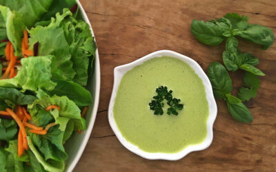 Vegan Creamy Herb Salad Dressing